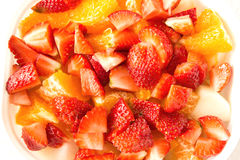 Variety mix fruit salad Royalty Free Stock Images