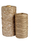 Natural cord rolls Stock Photos