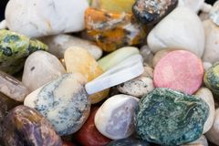 Variety of natural stone Stock Photo