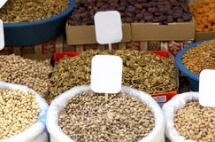 Variety of nuts Royalty Free Stock Image