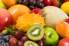 Variety Of Fruit Royalty Free Stock Photos