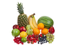 Variety Of Fruit Stock Photography