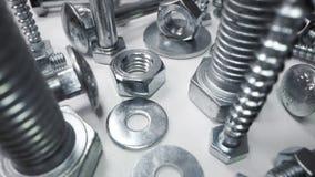 Free Variety Of Metal Screws And Fasteners Stock Image - 170831011