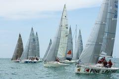 Variety Of Platu Class Ships On Race Royalty Free Stock Photos