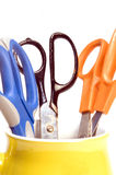 Variety office supply scissors Royalty Free Stock Photo
