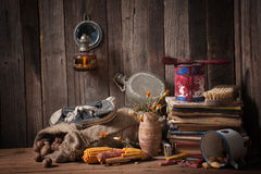 A variety of old things for scrap and recycling Stock Photography