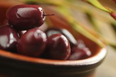 Variety of olives Stock Photography