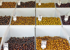 A variety of Olives Stock Images