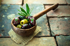 Variety of olives Royalty Free Stock Images