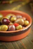 Variety of olives Royalty Free Stock Image