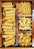 Variety of pasta Stock Photos