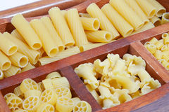 Variety of pasta Royalty Free Stock Photography
