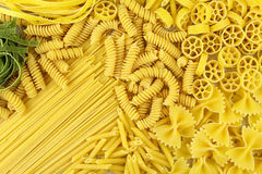 Variety of pasta Stock Images