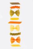 Variety of pasta Royalty Free Stock Image