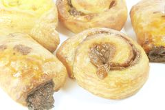 Variety of Pastries Royalty Free Stock Image