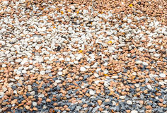 Variety of pebble Royalty Free Stock Photography