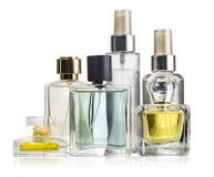 Variety of perfume bottles Royalty Free Stock Photo
