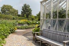 RHS Hyde Hall garden in Essex, UK stock image