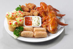 Variety platter Royalty Free Stock Image