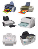 Variety of Printers Stock Photos