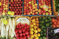 Variety of produce Royalty Free Stock Images