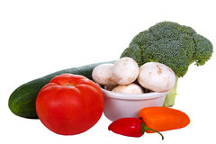 Variety Of Raw Vegetables Royalty Free Stock Images