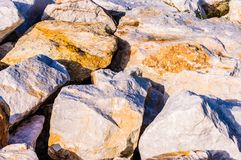 Variety Of Rock Formations Stock Photography