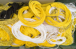 A variety of ropes. Stock Image