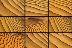 Variety of sand Royalty Free Stock Photography