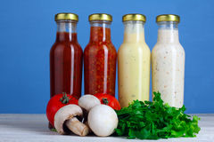Variety of sauces Stock Photo