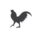Variety silhouettes chicken ,  Stock Images