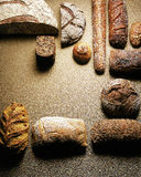 Variety of special breads Stock Image