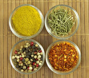 Variety of spices Royalty Free Stock Image