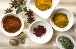 Variety of spices and herbs 2 Stock Photo