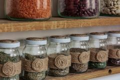 Essence of every chef - spices. Royalty Free Stock Images