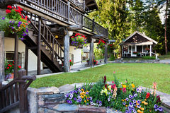 Country Lodging Royalty Free Stock Images