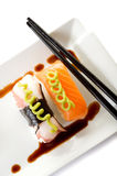 Variety of sushi Stock Photo