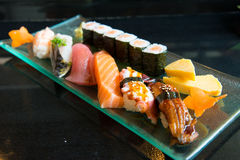 Variety Sushi Set Royalty Free Stock Photos
