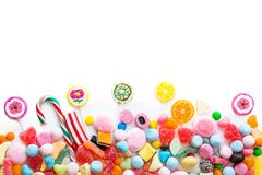 Variety of sweets Stock Images