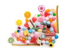 Variety of sweets Royalty Free Stock Photo