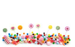 Variety of sweets Royalty Free Stock Photos