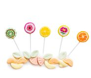 Variety of sweets Royalty Free Stock Images