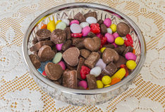 A variety of sweets Stock Photos