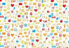 Variety of symbols Stock Image