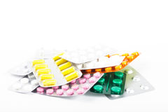 A variety of tablets Royalty Free Stock Image