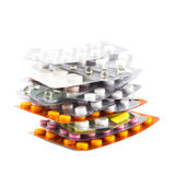The variety of tablets Stock Image