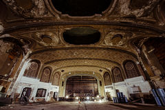 Variety Theatre - Cleveland, Ohio. Inside the shuttered Variety Theatre in Cleveland, Ohio Stock Photo