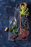 Variety of grapes Royalty Free Stock Photo