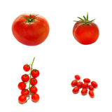 Variety of tomatoes Stock Photo