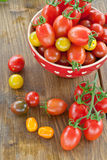 Variety of tomatoes Royalty Free Stock Photos